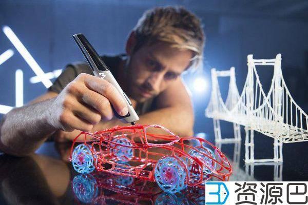 3D打印笔AtmosFlare凭空作画 带来艺术创作新形式插图1