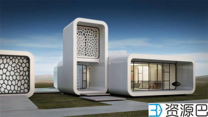 迪拜2030或将有25%建筑为3D打印插图3