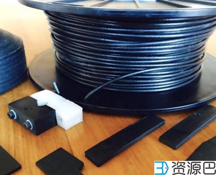 基于碳纳米管的高性能3D打印线材FilaOne GRAY插图1