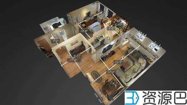 Airbnb与Matterport合作试点3D虚拟体验短租屋插图1