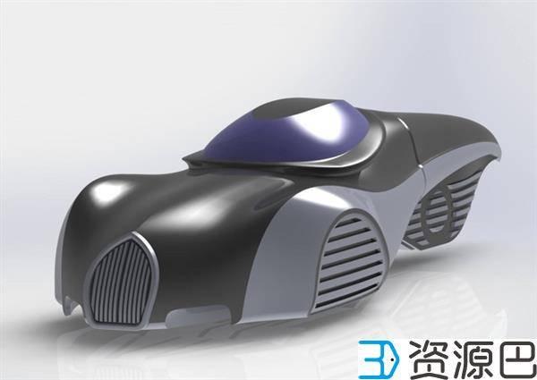 设计师用3D打印车参加Bangalow比利车大赛插图5