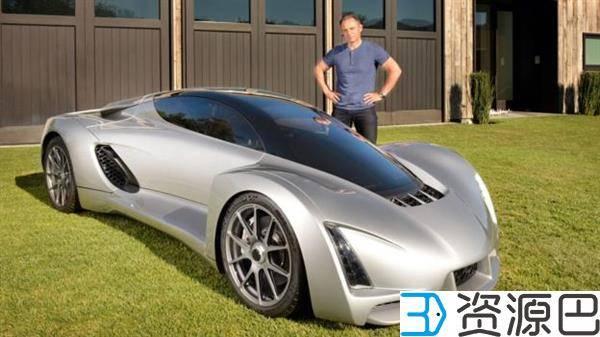 世界首辆3D打印超级跑车刀锋北美获大奖插图7