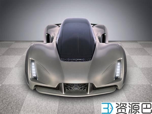 世界首辆3D打印超级跑车刀锋北美获大奖插图1
