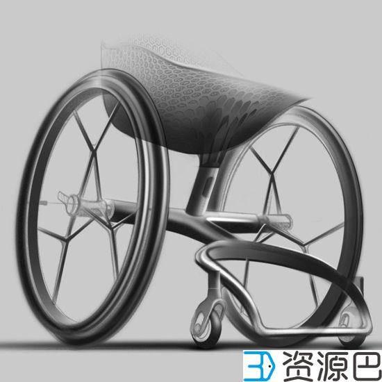 关爱残疾人 3D打印定制化轮椅插图11