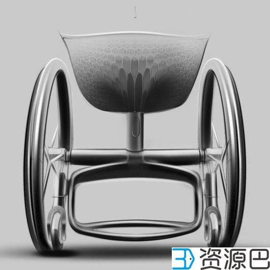 关爱残疾人 3D打印定制化轮椅插图15