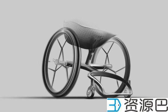 关爱残疾人 3D打印定制化轮椅插图13