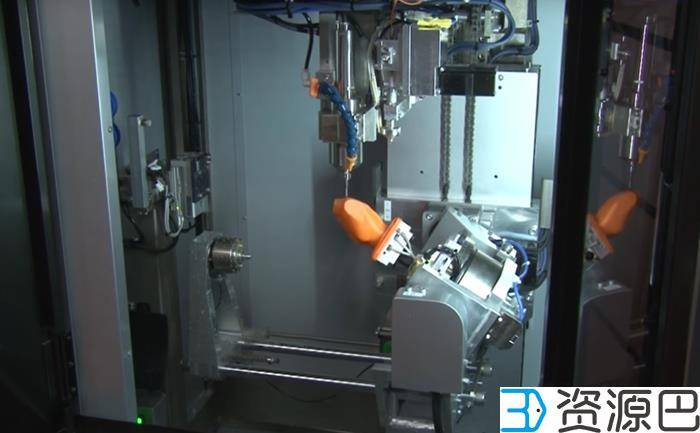 日本首台基于FDM技术的5轴混合制造3D打印机问世插图3