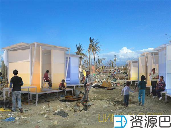WY-TO建筑师用3D打印技术兴建灾区临时安置房插图3