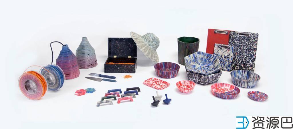 3D塑料打印机能使用回收塑料、长丝等材料进行打印插图3