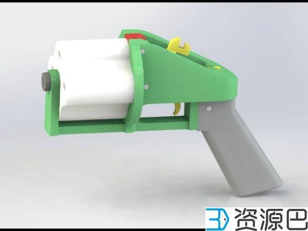 国产3D打印智能手枪发布,可指纹识别插图9
