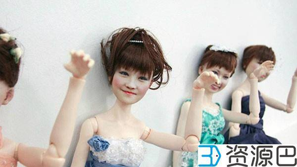 3D打印娃娃:把人生中最特别的时刻留住插图1