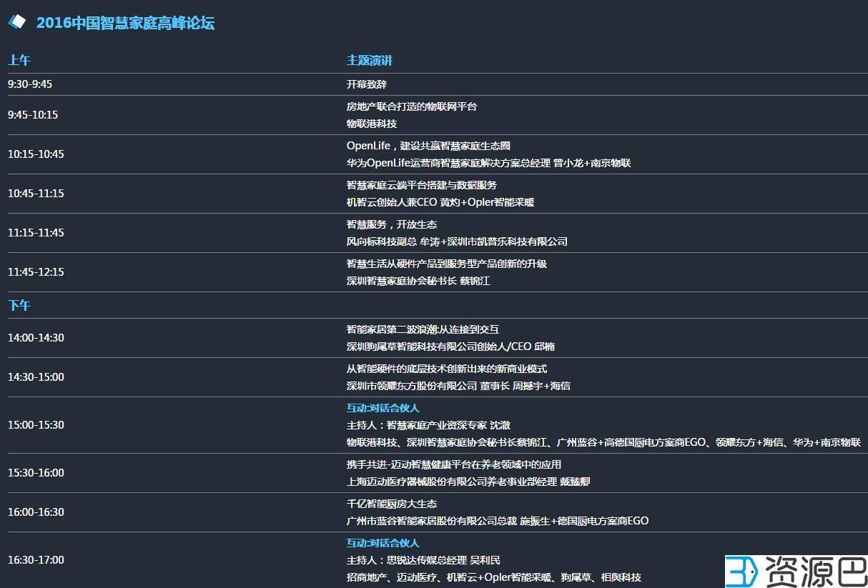 2016中国智慧家庭博览会今日在深圳正式开幕插图3