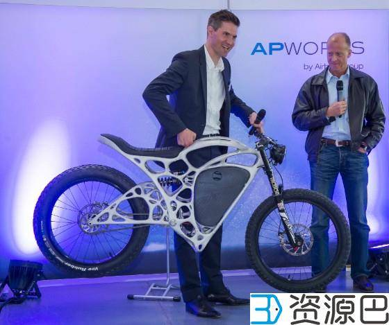 空客发布世界首辆3D打印摩托,仅重35公斤插图1