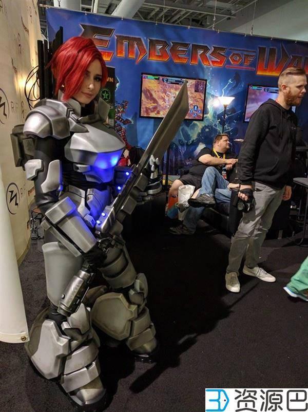 1个月3D打印出全套cosplay战甲,怎么做到的?插图9