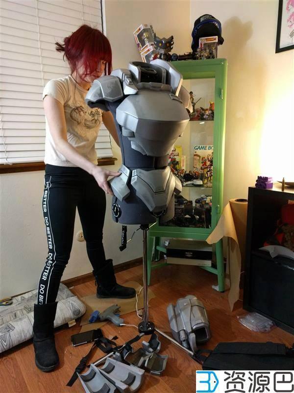 1个月3D打印出全套cosplay战甲,怎么做到的?插图3