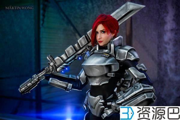 1个月3D打印出全套cosplay战甲,怎么做到的?插图1