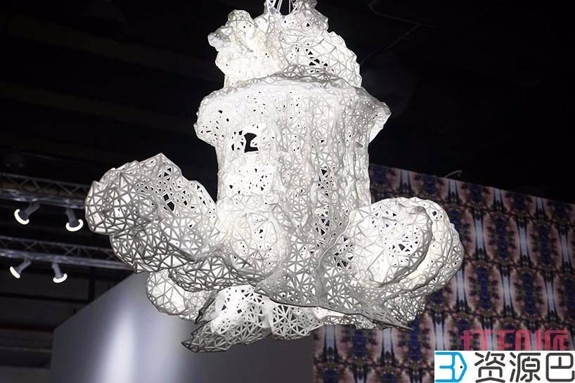 美到爆炸的3D打印吊灯插图15