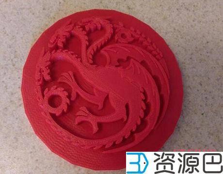 《权力的游戏》各种剧中道具都可以3D打印插图1
