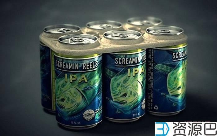 1598493667-2224018fef06371.jpg-插件-3D打印啤酒环,可以吃的包装