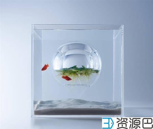 1598493670-83afe67c781e34f.jpg-插件-艺术家用3D打印打造的豪华家用水族馆