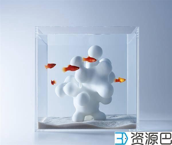 1598493670-cd70ba94e3fb285.jpg-插件-艺术家用3D打印打造的豪华家用水族馆