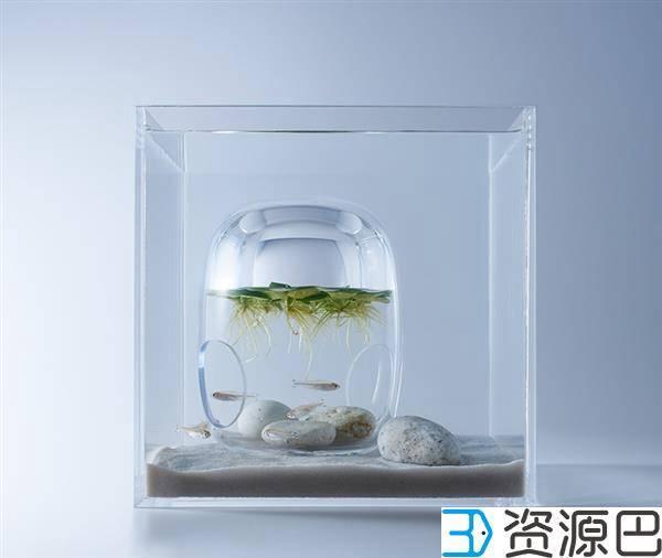 1598493670-eb2351f736a7d00.jpg-插件-艺术家用3D打印打造的豪华家用水族馆