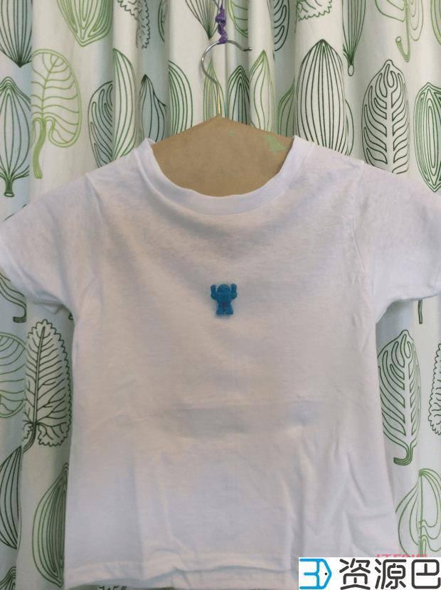 让你的夏天不一样,3D打印个性T恤图案插图1