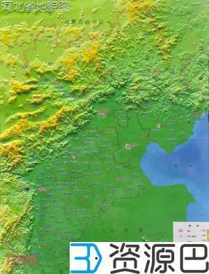 中国首幅3D打印民用地图问世 精度达0.075毫米插图1