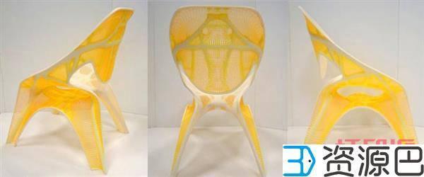 建筑大师扎哈·哈迪德生前设计的3D打印椅子插图3