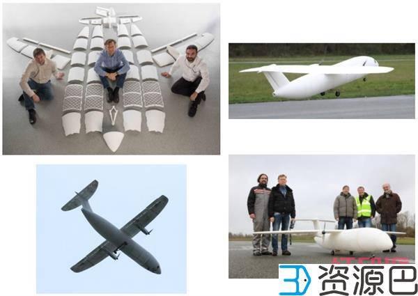 空客又炫耀了!只用4周就3D打印了一架4米长的无人机!插图5