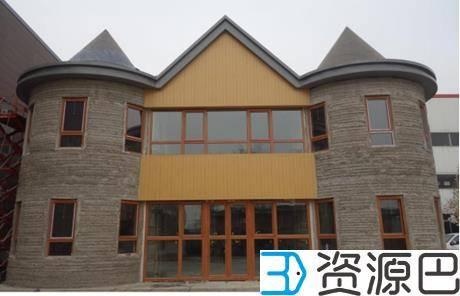 1598839267-d7a527e65b8c2b0.jpg-插件-3D打印机现场打印的房屋你见过吗