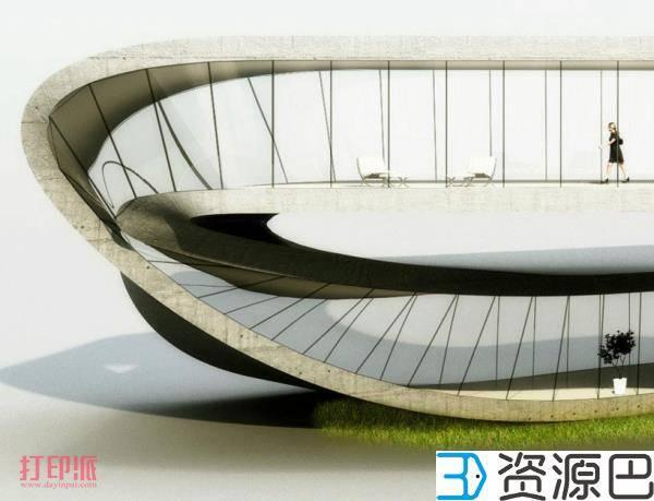 荷兰建筑师计划3D打印一栋莫比乌斯环式建筑插图5