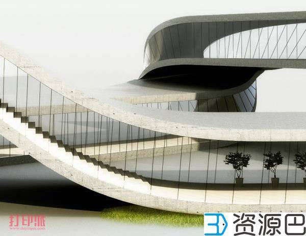荷兰建筑师计划3D打印一栋莫比乌斯环式建筑插图7