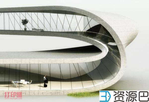 荷兰建筑师计划3D打印一栋莫比乌斯环式建筑插图9