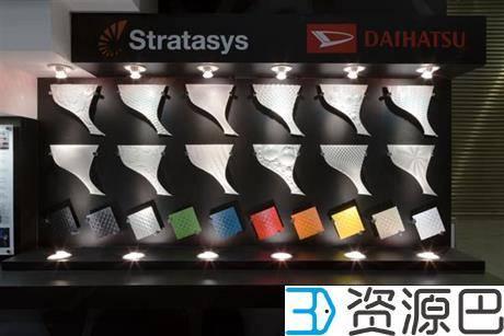 Stratasys携手日本大发为名贵跑车定制3D打印车皮插图9