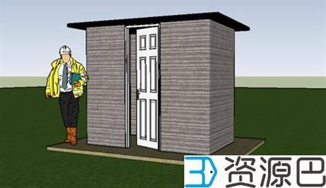 美国学生用建筑3D打印机24小时打造宜居小屋插图3