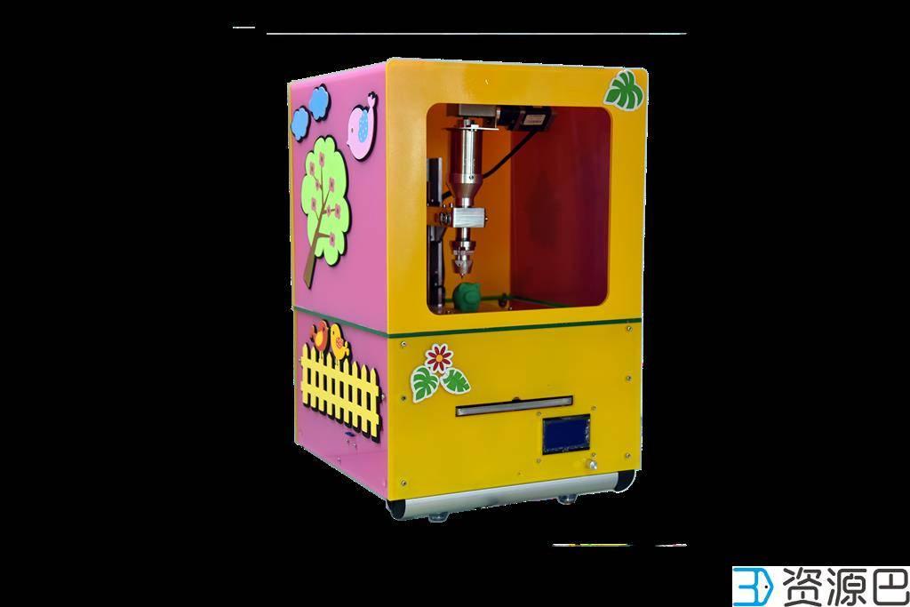 3D橡皮泥打印机插图1