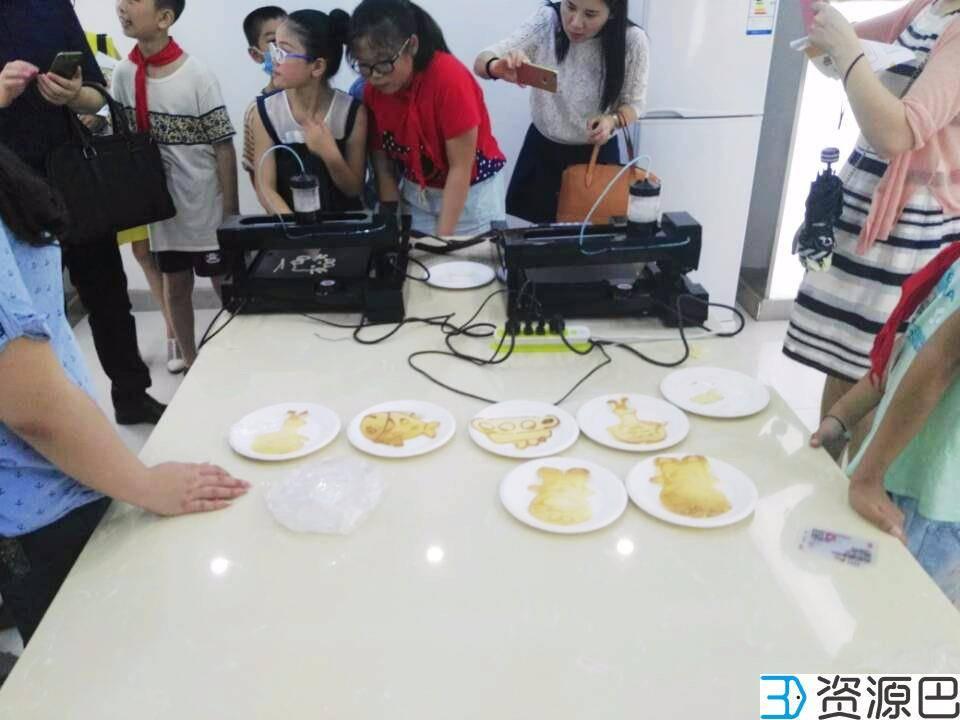 """网云三维3D煎饼打印机亮相""""武汉创客教育直通车""""插图1"""