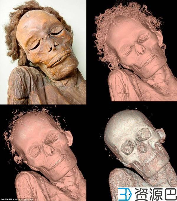 3D打印助力探究千年木乃伊之秘插图1