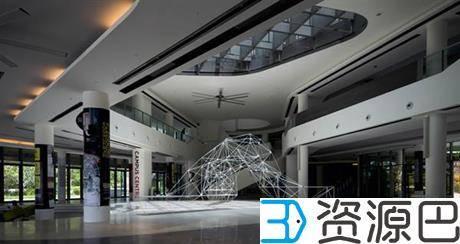 SUTD用3D打印构件组成大型网格式亭子插图1