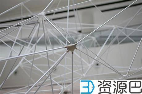 SUTD用3D打印构件组成大型网格式亭子插图7