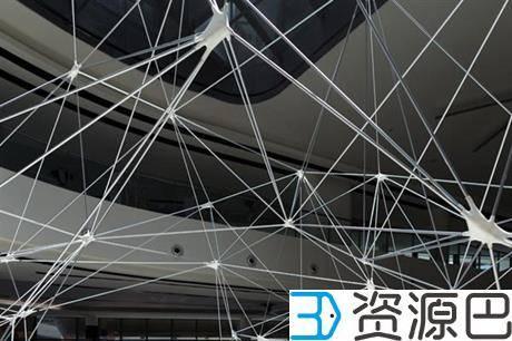 SUTD用3D打印构件组成大型网格式亭子插图5
