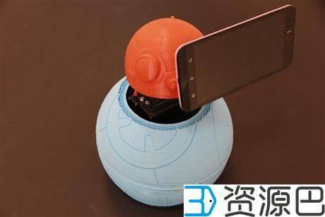 如何把3D打印自拍机器人SelfieBot改造成BB-8形象插图1