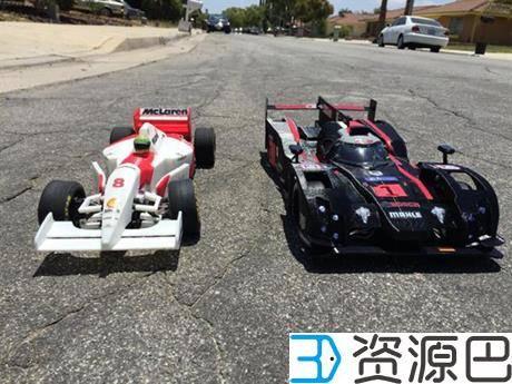 创客为纪念拳王阿里3D打印奥迪R18 E-Tron Quattro遥控赛车插图11
