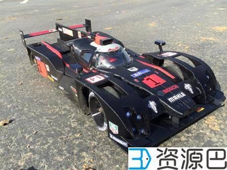 创客为纪念拳王阿里3D打印奥迪R18 E-Tron Quattro遥控赛车插图7
