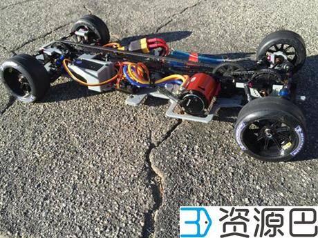 创客为纪念拳王阿里3D打印奥迪R18 E-Tron Quattro遥控赛车插图3