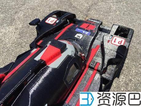 创客为纪念拳王阿里3D打印奥迪R18 E-Tron Quattro遥控赛车插图5