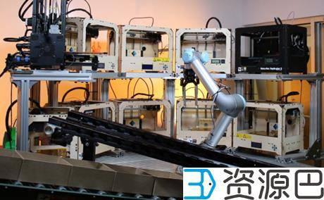 太智能了!云机器人可同时照看数十台3D打印机插图11