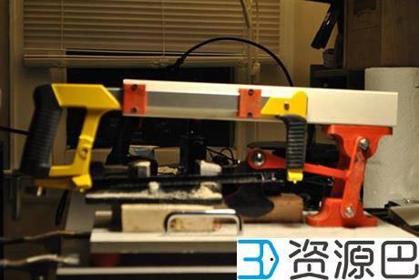创客用3D打印DIY自动钢锯 可切断钢铁插图1