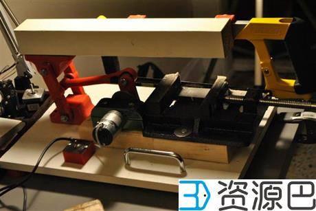 创客用3D打印DIY自动钢锯 可切断钢铁插图5